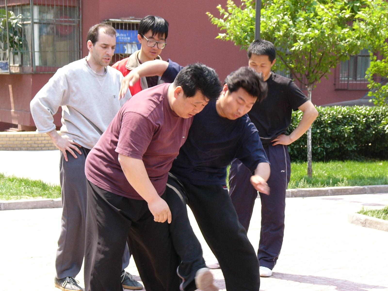 Chen Taijiquan Chan Si Jin & The Copy Expert